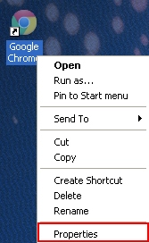 Chrome properties