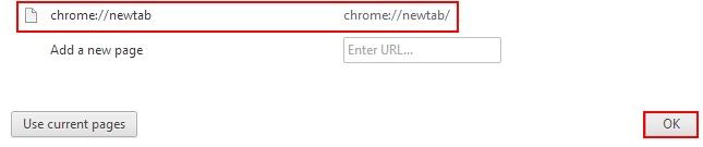 Chrome newtab