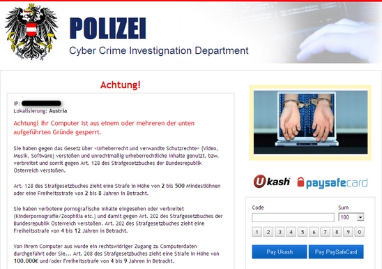 Polizei Cybercrime Investigation Department Austria