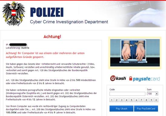 Polizei Cybercrime Investigation Department Austria