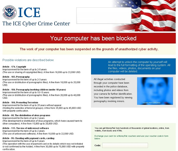 The ICE Cyber Crime Center
