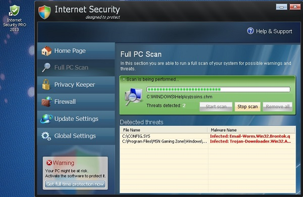 Internet Security Pro 2013