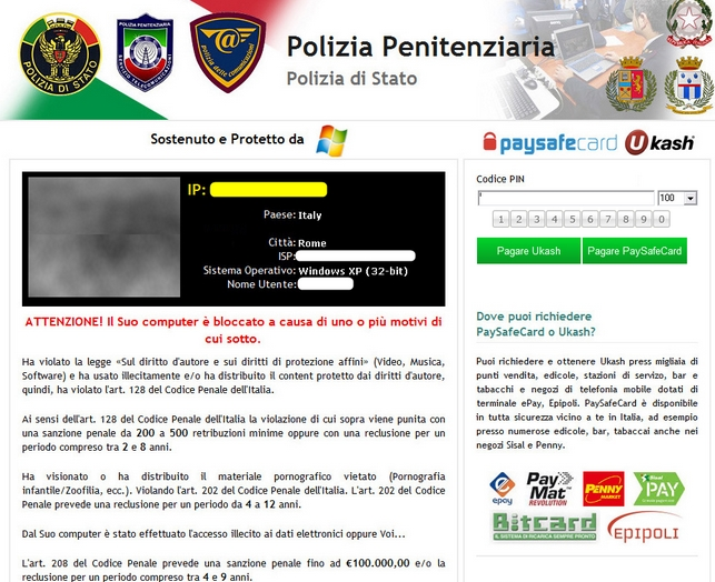 Polizia Penitenziaria virus