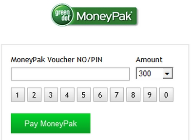 GreenDot Moneypak scam