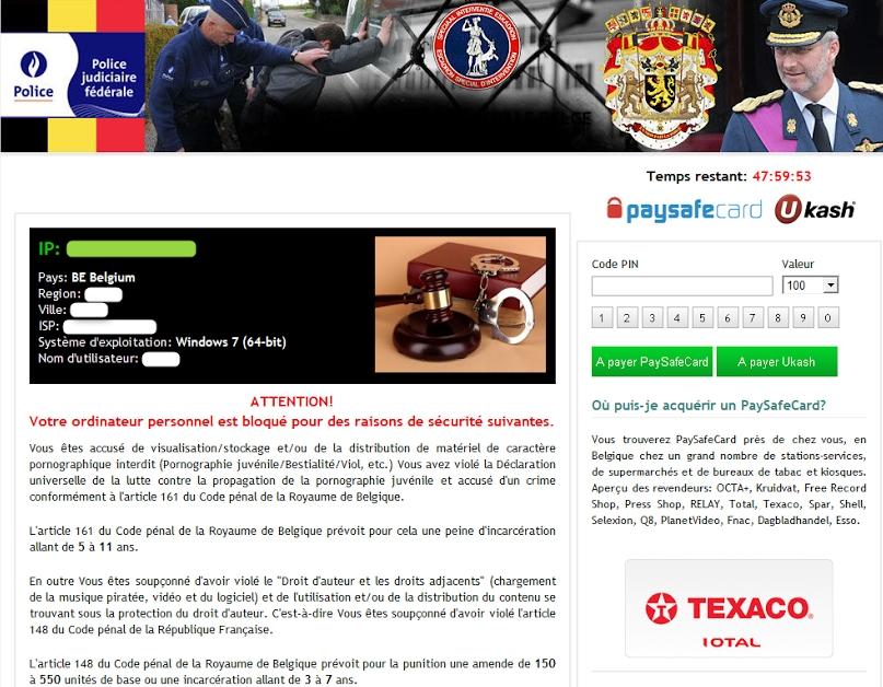 Police Judiciaire Federale virus