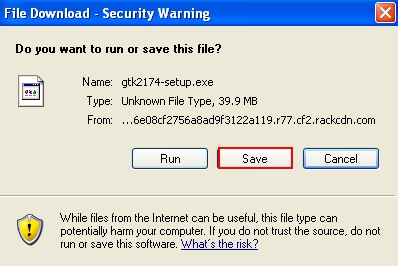 Save the installer of Anti-Malware