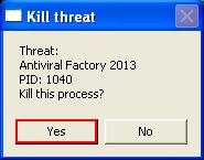Kill Antiviral Factory 2013