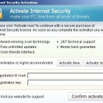 Internet Security Activation