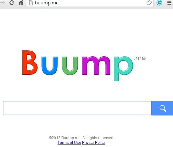Buump.me browser hijacker