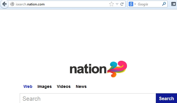 Isearch.nation.com browser hijacker