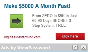 Ads by ViewPassword