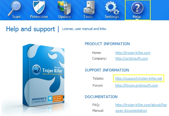 Anti-Malware Support