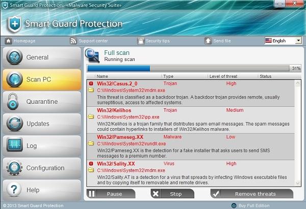 Smart Guard Protection malware