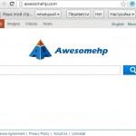 Awesomehp.com malware