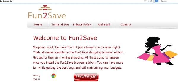 Fun2Save adware