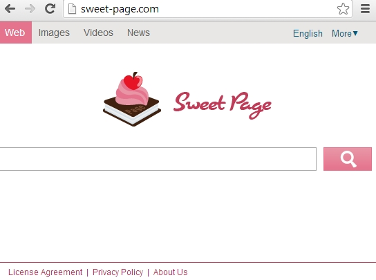 Sweet-page.com browser hijacker