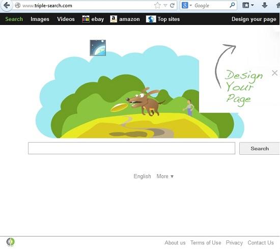 Triple Search browser hijacker