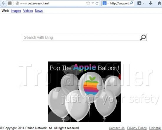 better-search.net browser hijacker
