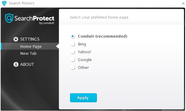 Search Protect by Conduit program