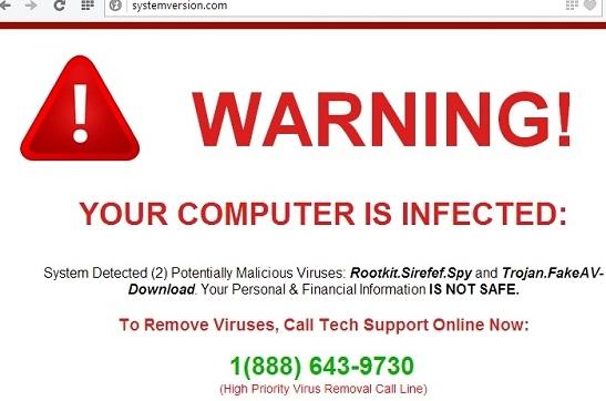 Systemversion.com malware
