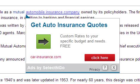 SelectNGo Ads