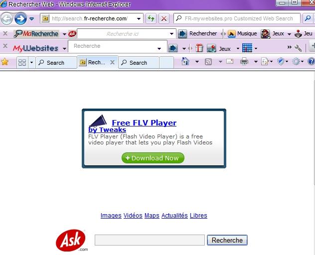 Fr-recherche.com hijack