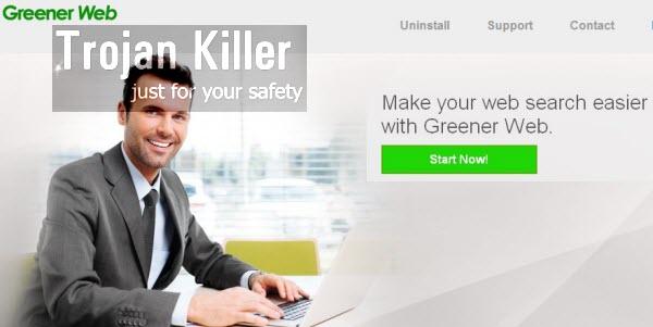Greener Web ads