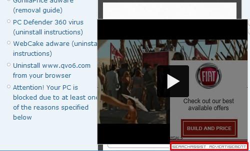 Search Assist adware