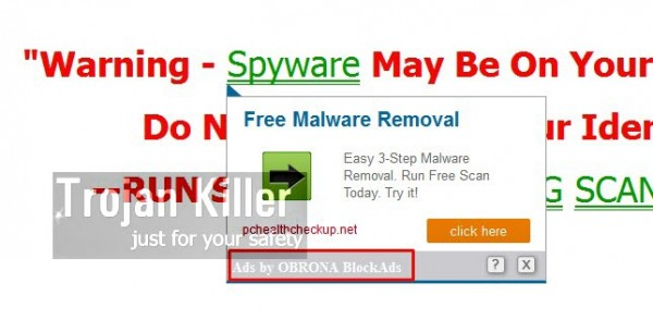 Obrona BlockAds is a new annoying adware attacking many browsers today