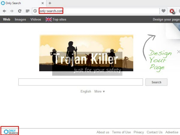 Only Search hijacker