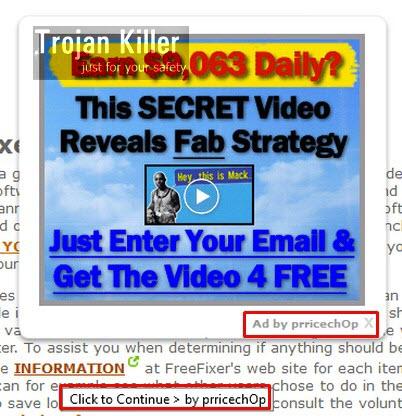PriceChop ads