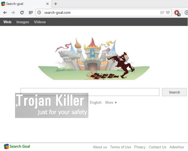 Search Goal browser hijacker