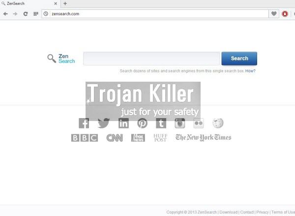 ZenSearch browser hijacker