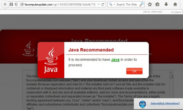 how to get rid of java pop up on mac