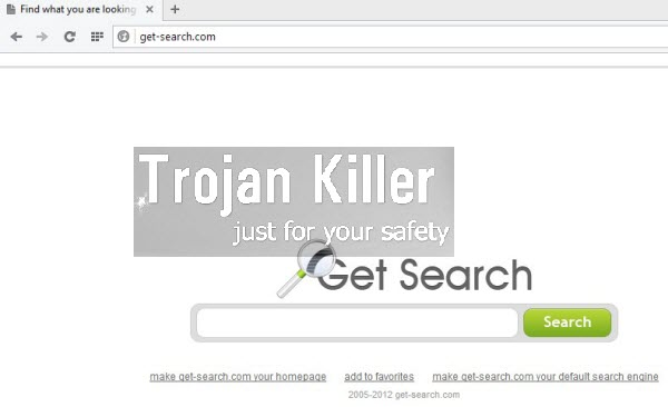 Get Search browser hijacker