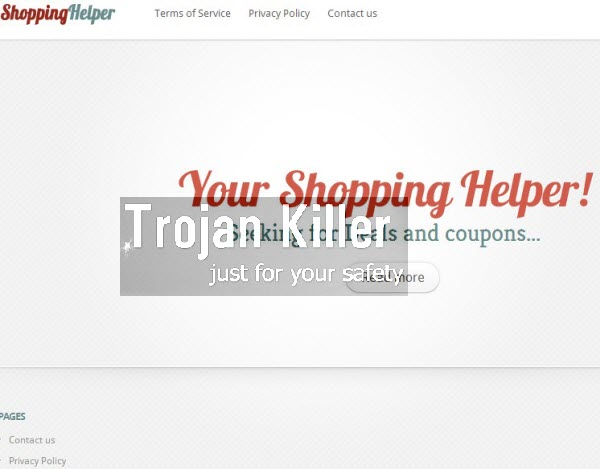 ShoppinHelper adware