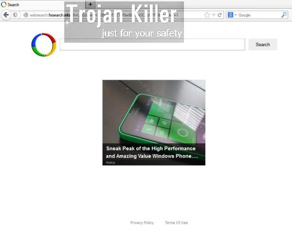 Websearch.fixsearch.info virus