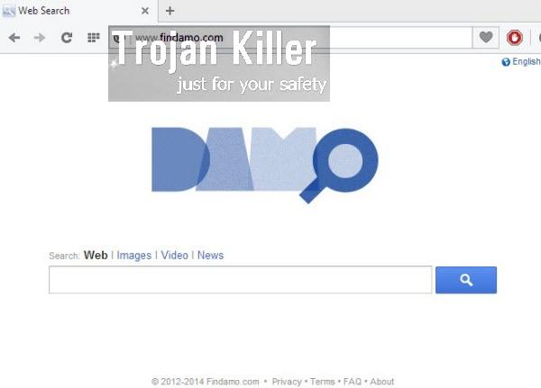 Damo (findamo.com) hijack