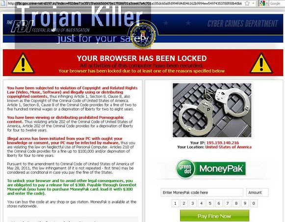 fbi gov crime-net-id fake FBI warning virus – System Tips
