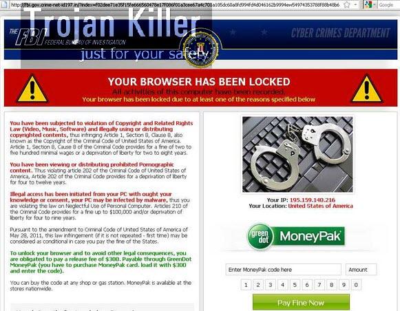 Fbi gov crime net id fake fbi warning virus system tips