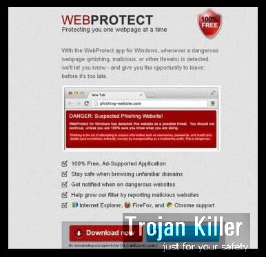 WebProtect adware