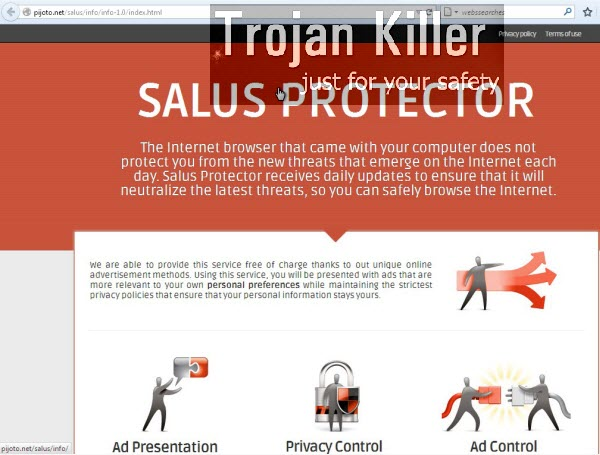 Salus Protector adware