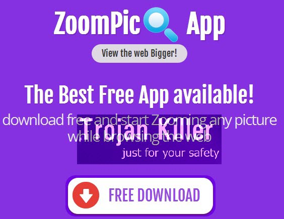 ZoomPic adware (screenshot from the website)