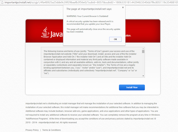 importantpcinstall.net virus