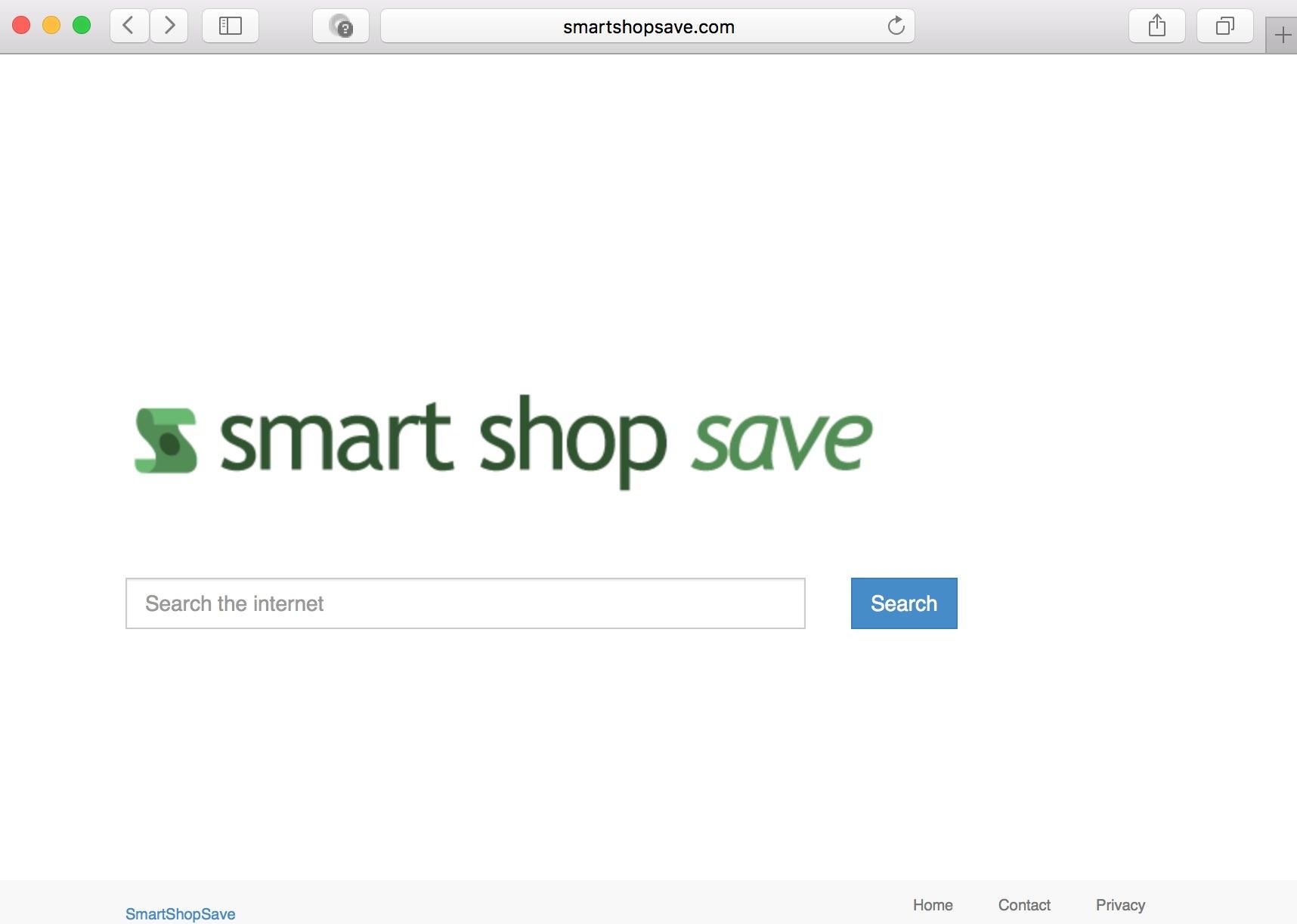 Smart Shop Save hijacker