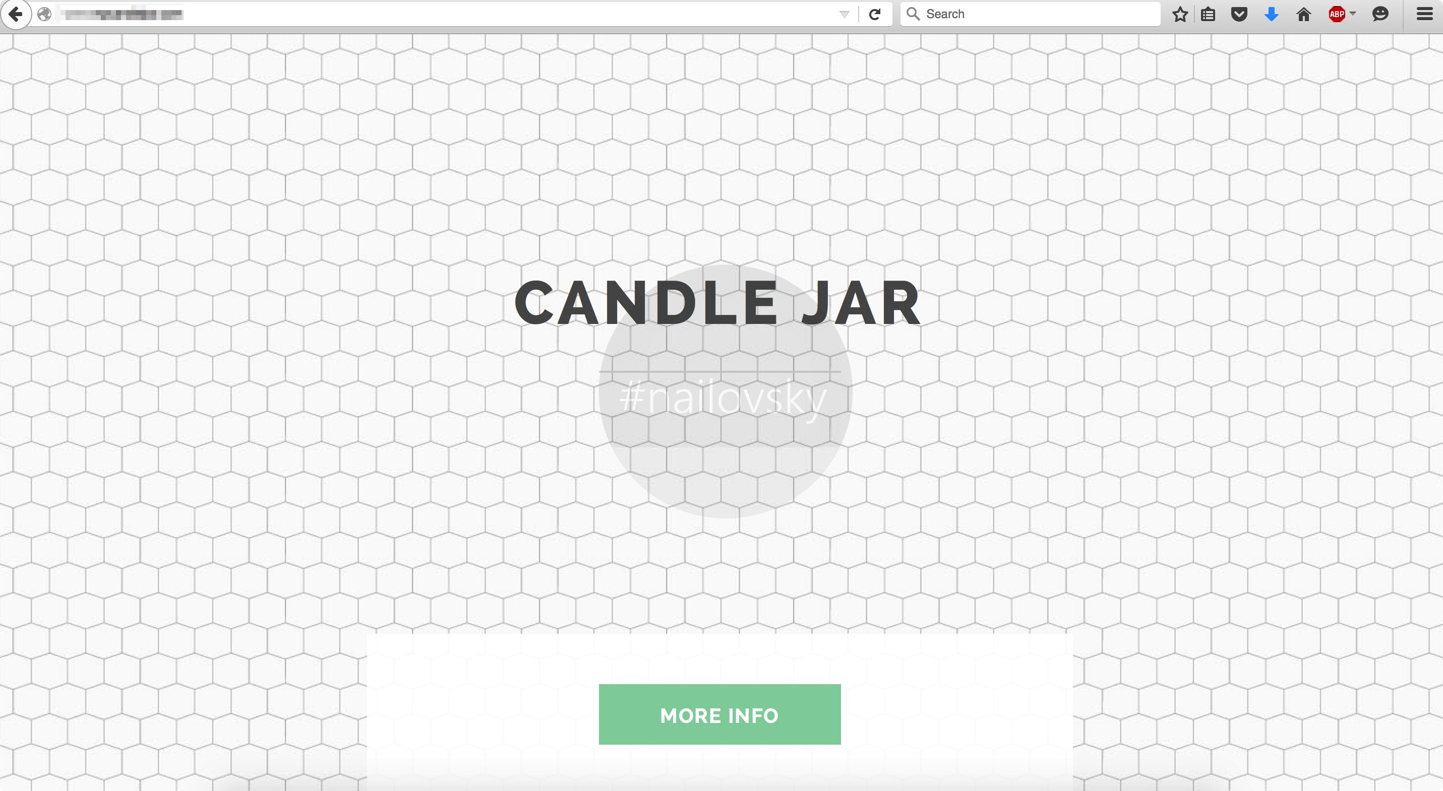Candle Jar Ads