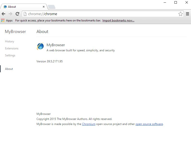 MyBrowser version 39.5.2171.95