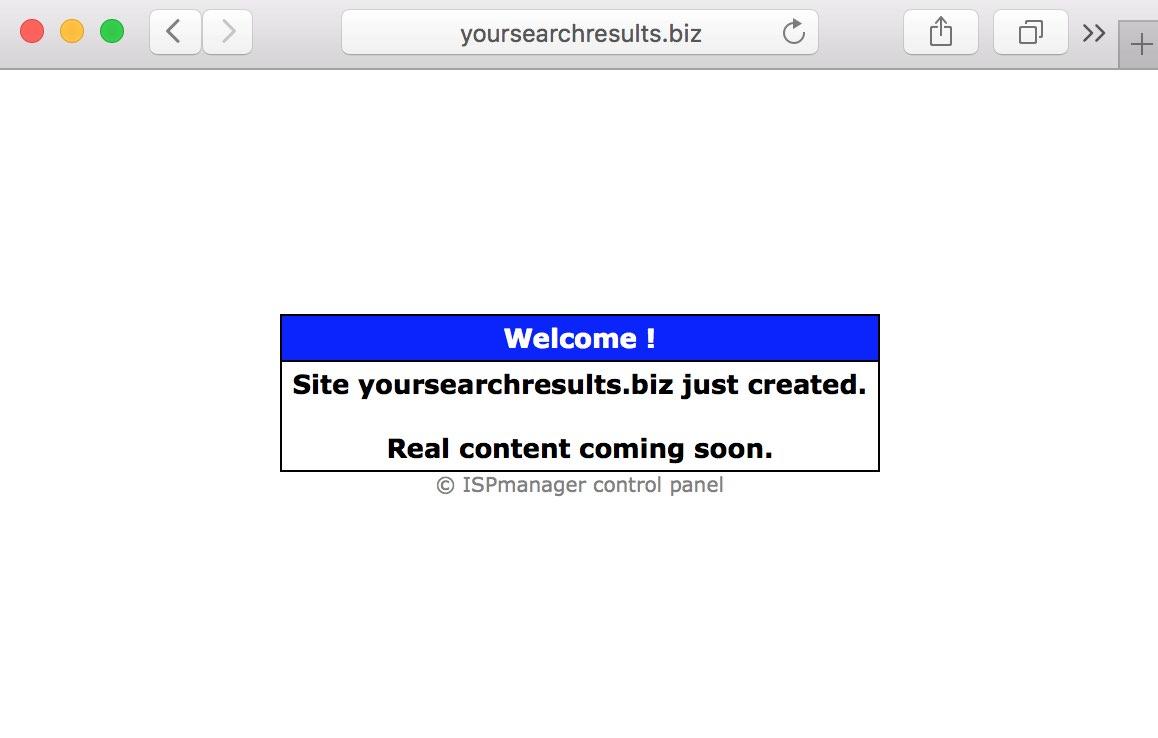 Yoursearchresults.biz