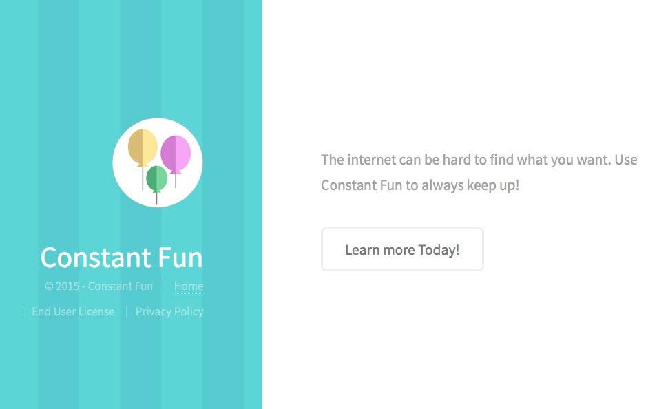 Constant Fun Ads