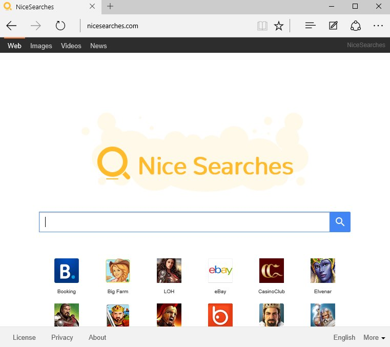 NiceSearches virus
